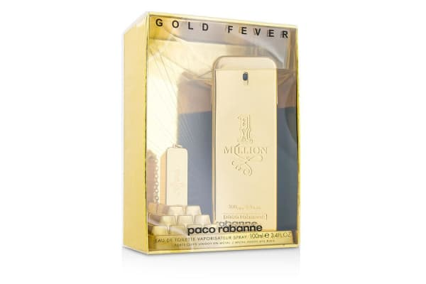 Paco Rabanne One Million Eau De Toilette Spray (Collector's Edition, with Metal Ingot Key Ring) (100ml/3.3oz)