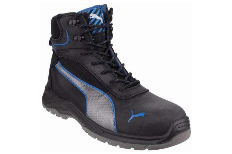 Puma Safety Mens Atomic Mid Water Resistant Lace Up Safety Boot (Black) (11 UK)