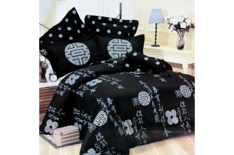 Fortune Ring Quilt Cover Set by Orient Sense