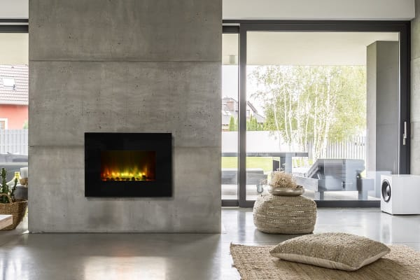 Kogan SmarterHome™ 2000W Multi-Colour Flame Effect Smart Heater