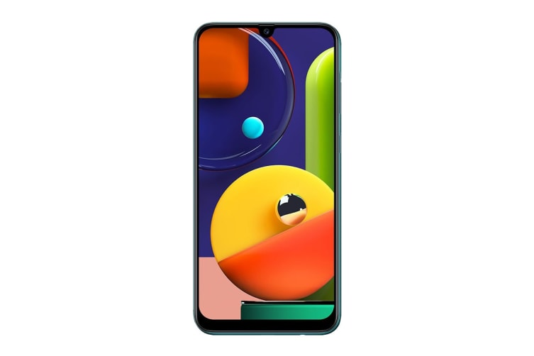 Samsung Galaxy A50s Dual SIM (6GB RAM, 128GB, Prism Crush Green)