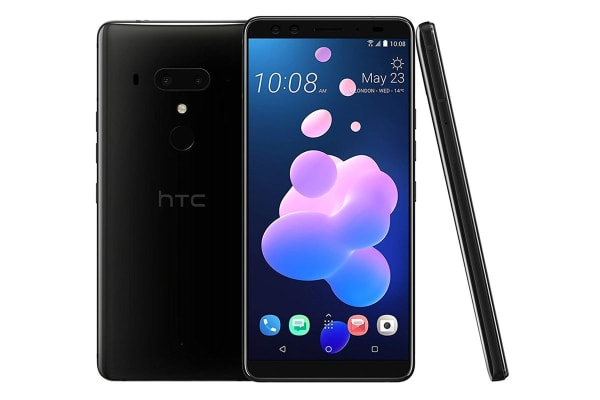 HTC U12+ Dual SIM (64GB, Ceramic Black)