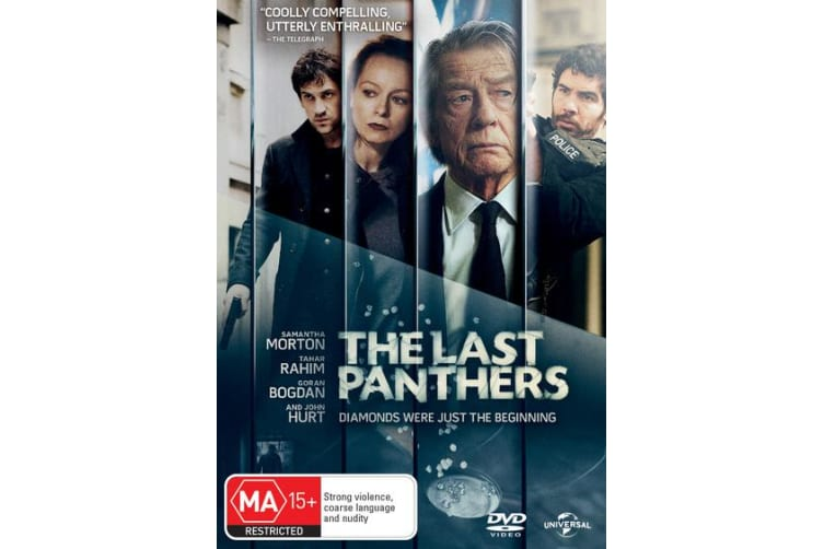 The Last Panthers DVD Region 4