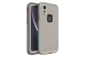 Lifeproof iPhone XR FRE Case Waterproof Dirtproof Snowproof Dropproof Cover for Apple - Grey & Blue Body Surf