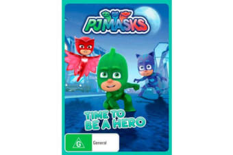 Time to Be a Hero : PJ Masks