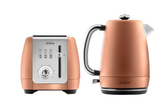 Sunbeam London Collection Kettle & Toaster Breakfast Pack - Rose Bronze