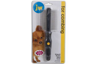 Double Sided Dog Comb Grooming Toold by JW Gripsoft