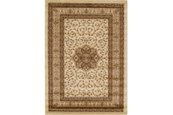 Medallion Classic Pattern Rug Ivory 170x120cm