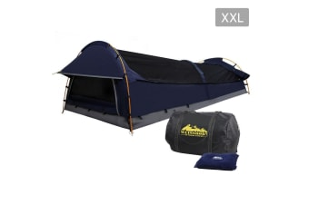 XXL Deluxe King Single Extra Large Swag (Navy)