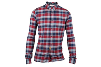 CAT Lifestyle Mens C2611071 Alloy Patterned Long Sleeve Shirt (Plaid) (Large)