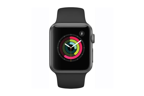 Apple Watch Series 1 Refurbished (38mm, Space Gray, Black Sport Band) - A Grade