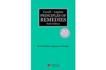 Covell & Lupton Principles of Remedies