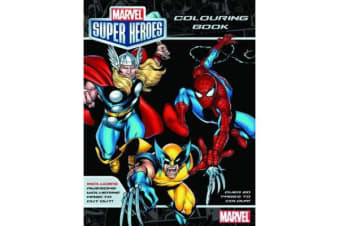 Marvel - Marvel Super Heroes Colouring Book