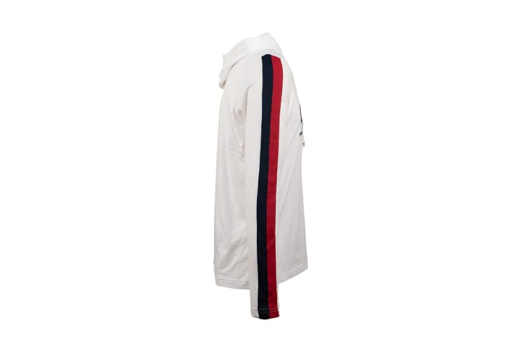 Tommy Hilfiger Men's Modern Essentials Hoodie (White, Size S)