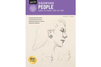 Drawing: People with William F. Powell - Learn to draw step by step