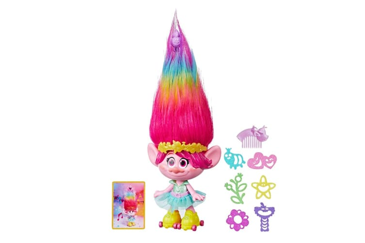 Trolls Poppy Party Hair