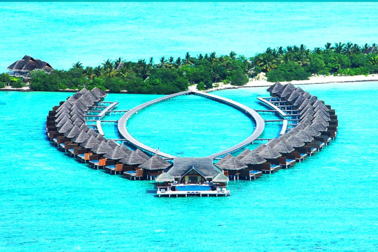 MALDIVES: 5 Nights in an Overwater Lagoon Villa with Ocean View at Taj Exotica Resort & Spa Including Flights for Two