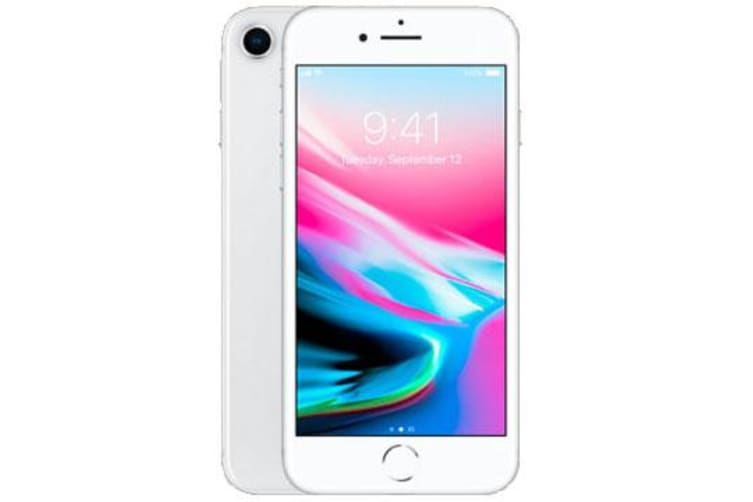 Used as demo Apple iPhone 8 256GB 4G LTE Silver Australian Stock (6 month warranty + 100% Genuine)