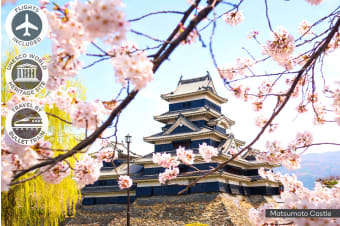 JAPAN: 19 Day Discover Japan Including Singapore Stopover Plus Flights for One or Two