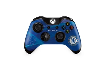 Chelsea FC Xbox One Controller Skin (Blue) (One Size)