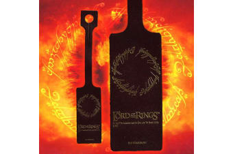Lord of the Rings Leather `One Ring` Luggage Tag | Meniscus NZ