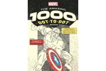 Marvel's Amazing 1000 Dot-to-Dot Book - Twenty Comic Characters to Complete Yourself