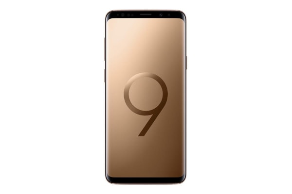 "Samsung Galaxy S9+ Plus G965F (64GB, 6.2"", 12MP, Tel) - Sunrise Gold"