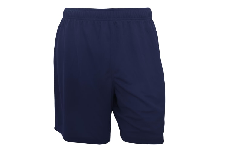 Fruit Of The Loom Mens Moisture Wicking Performance Sport Shorts (Deep Navy) (2XL)