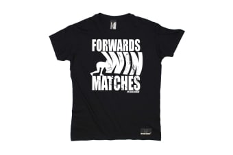Up And Under Rugby Tee - Forwards Win Matches Mens T-Shirt