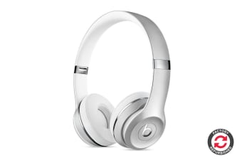 Beats Solo3 Wireless Headphones Refurbished (Silver) - A- Grade