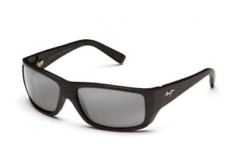1622009e037c Maui Jim Wassup 12302W Matte Black Wood Grain Mens Sunglasses
