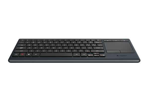 Logitech K830 Illuminated Living Room Keyboard (920-007182)