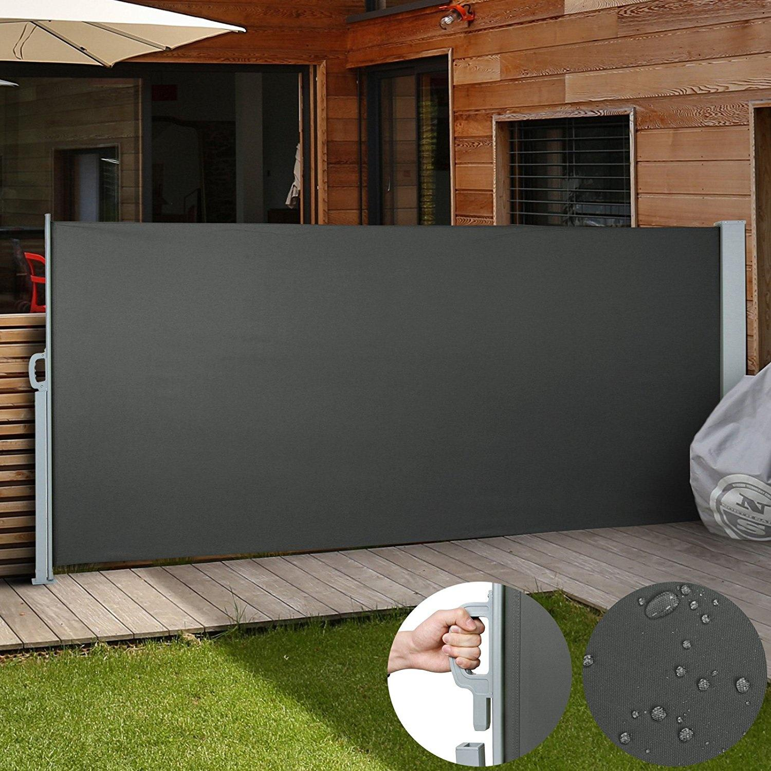Image of 1.8X3M Retractable Side Awning Shade