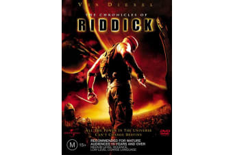 The Chronicles of Riddick DVD Region 4