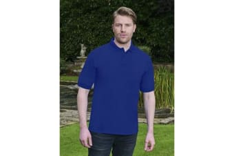 Absolulte Apparel Mens HydroFX Polyester Polo (Royal)