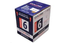 Dynamix C-C6-SLDYELLOW 305M Cat6 Yellow UTP SOLID Cable Roll. 550MHz