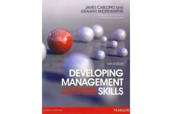 Developing Management Skills - A comprehensive guide for leaders