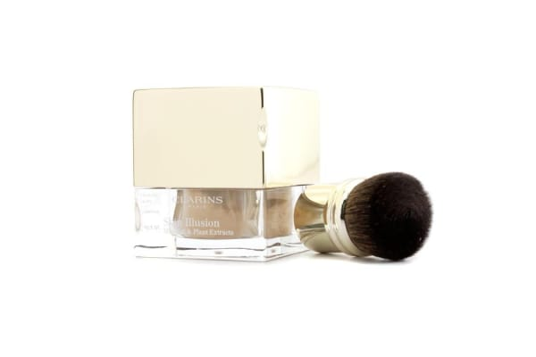 Clarins Skin Illusion Mineral & Plant Extracts Loose Powder Foundation (With Brush) - # 112 Amber (13g/0.4oz)