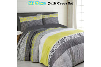 Ali Neon Quilt Cover Set by Big Sleep