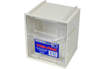 Fischer Plastic Medium Visi Pak Storage Drawer