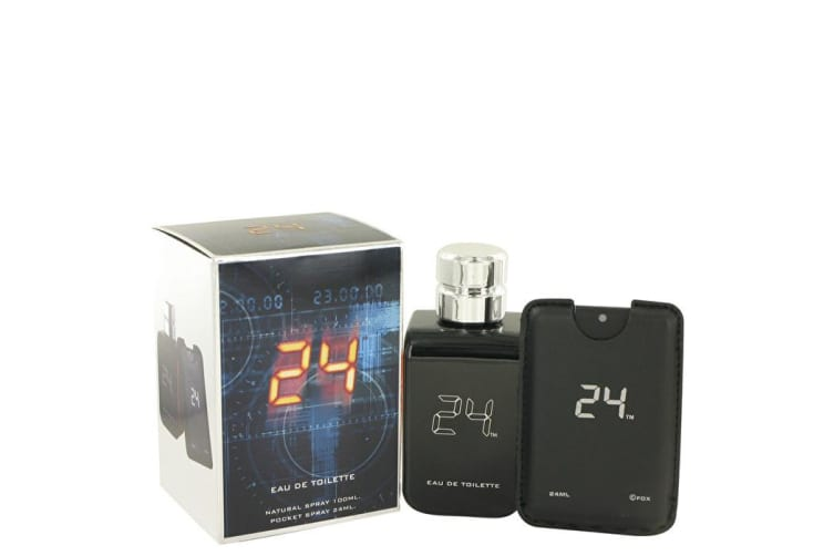 ScentStory 24 The Fragrance Eau De Toilette Spray + Mini Pocket Spray 3.4 oz 100ml/3.4oz