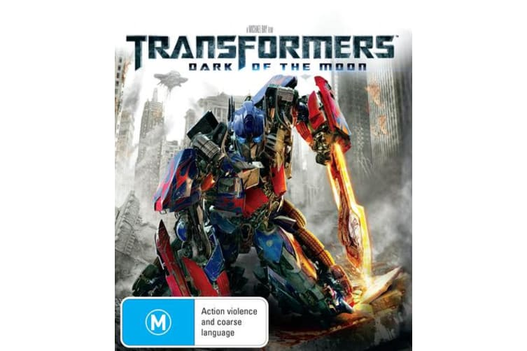 Transformers Dark of the Moon Blu-ray Region B