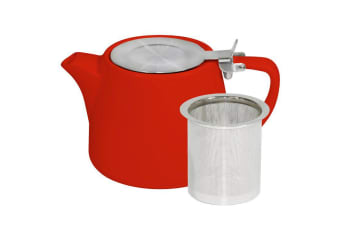 Brew Chilli Red Stackable Teapot 500ml