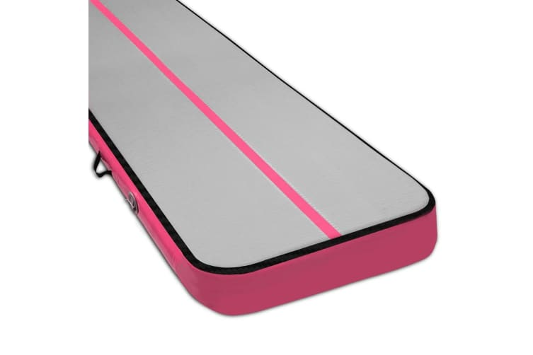 Everfit 7MX1M Airtrack Inflatable Air Track Tumbling Mat Floor Gymnastics Pink