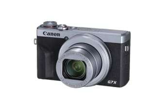 New Canon PowerShot G7 X Mark III Silver Camera (FREE DELIVERY + 1 YEAR AU WARRANTY)