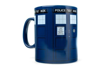 Doctor Who Tardis Giant Mega Coffee Mug 900ml | large big tea cup