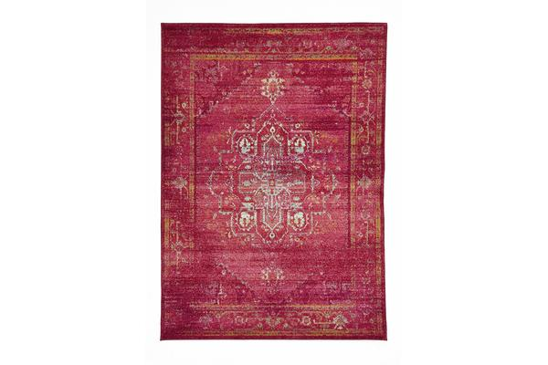 Overdyed Classic Style Rug Red 330x240cm