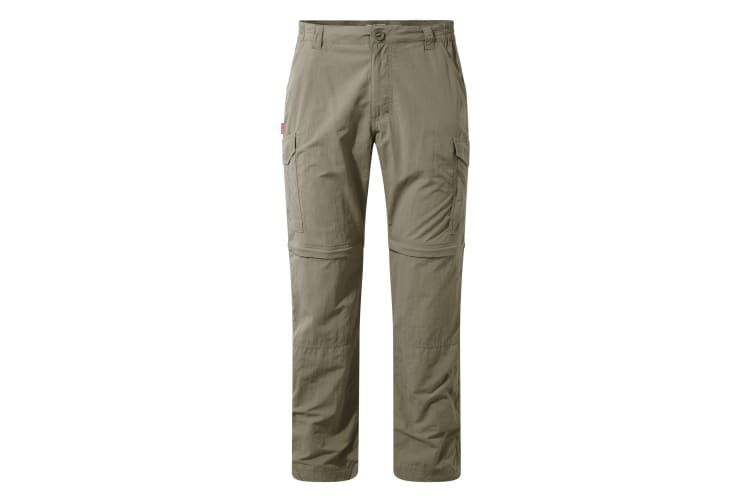 Craghoppers Mens NosiLife Convertible II Trousers (Pebble) (30R)