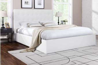 Shangri-La Bed Frame - Symphony Collection (White)