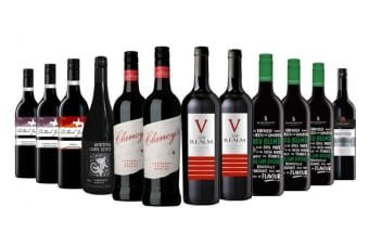 Bold Red Mixed Wine (12 Bottles)